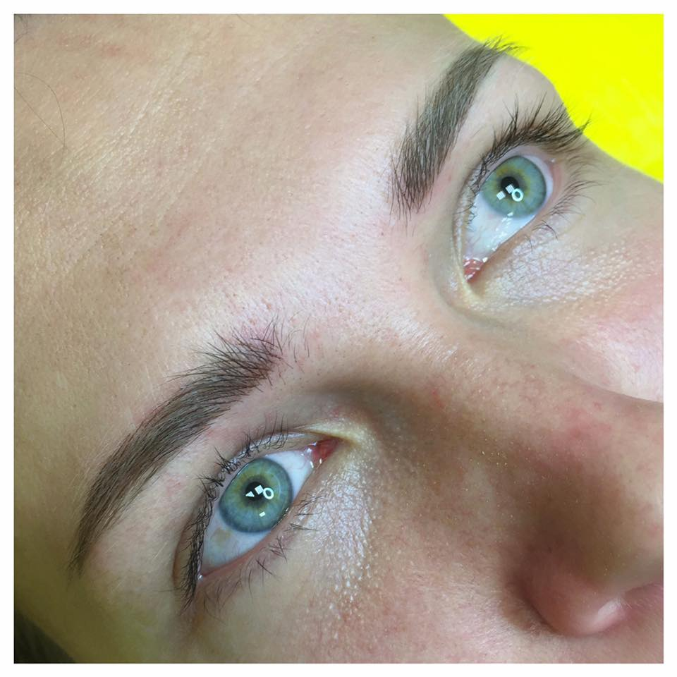 eyebrows and lips permanent makeup